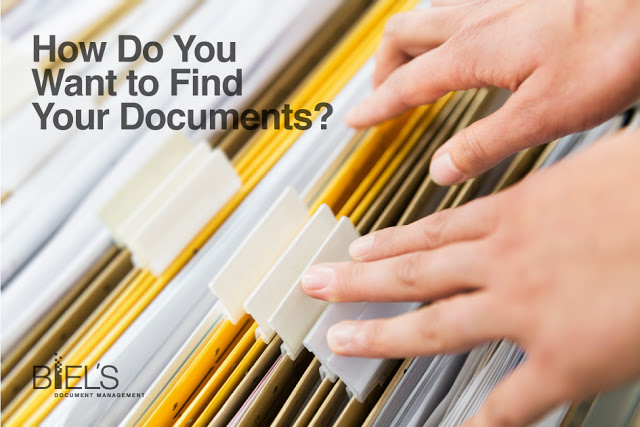How Do You Want to Find Your Documents?