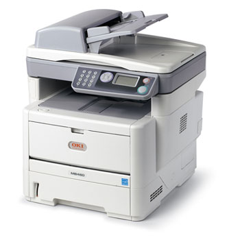 OKI MB491Monochrome Multifunction Printer