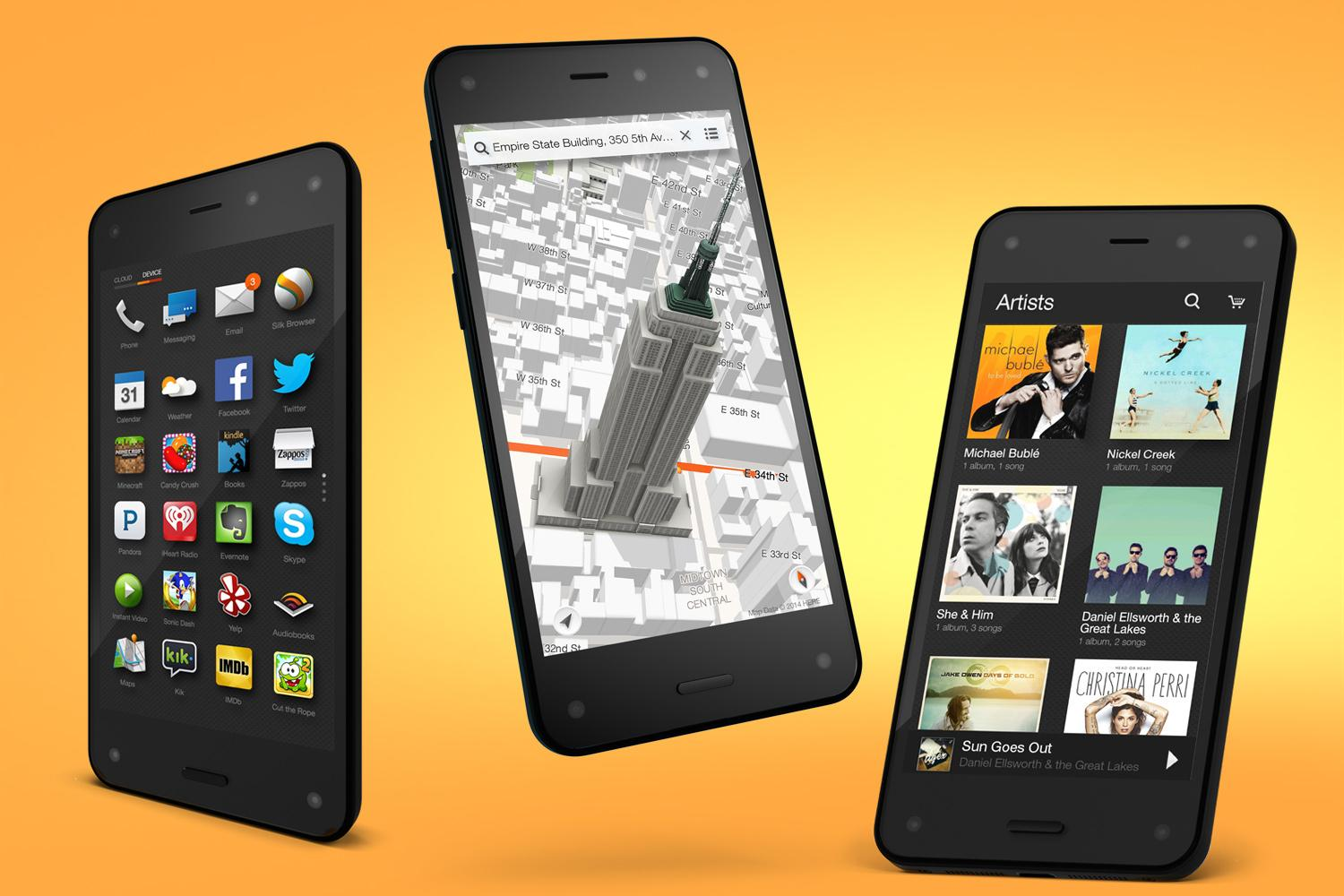 Who is the winner in the smartphone race? Amazon Fire could lead