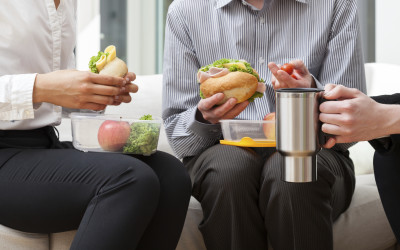 Munching and Crunching: Four Tips for Lunchtime Productivity.